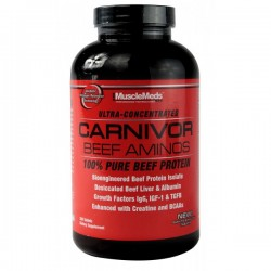 MuscleMeds - Carnivor Beef Aminos 300 Caps