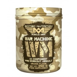 SCITEC NUTRITION MUSCLE ARMY - WAR MACHINE 350gr
