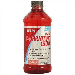 MET-Rx - Liquid L-Carnitine 1500 with Vitamin B5