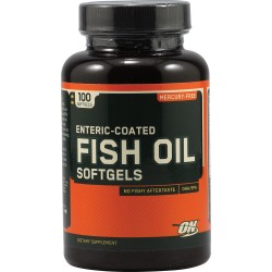 OPTIMUM Nutrition - ENTERIC COATED FISH OIL SOFTGELS