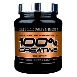 SCITEC NUTRITION - 100% CREATINE 1000gr