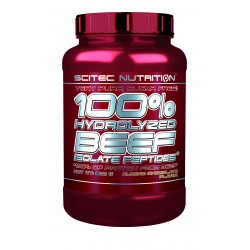SCITEC NUTRITION - 100% HYDROLYZED BEEF ISOLATE PEPTIDES 1800gr